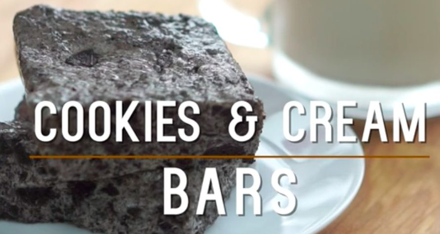 Cookies & Cream Bars