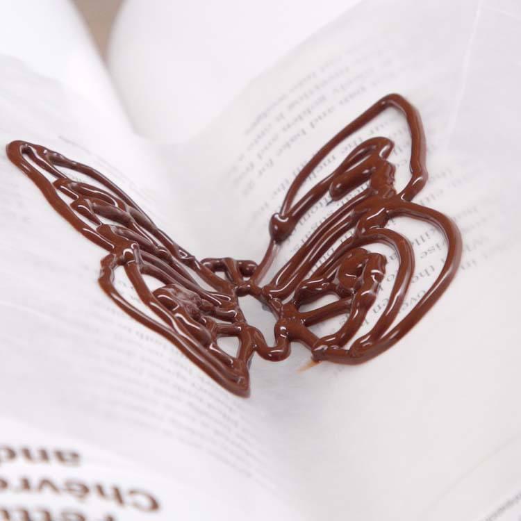 Chocolate Butterflies still melted