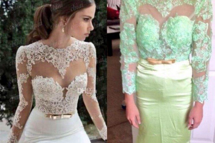 fail green dress