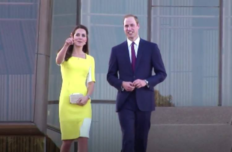 Image of Will and Kate.