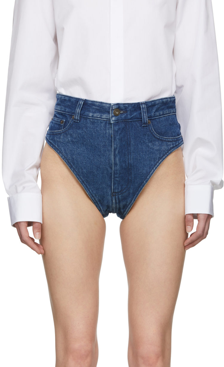 Image of denim underwear