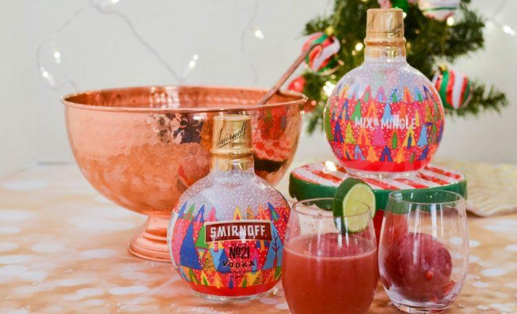 Image of Smirnoff vodka-filled ornaments