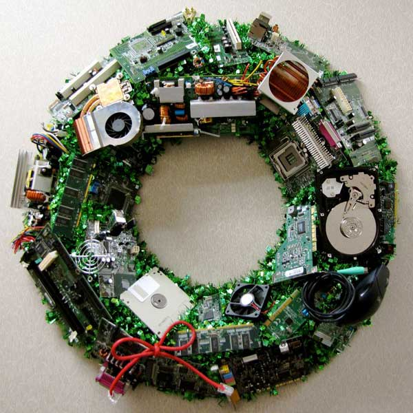 Tech Wreath