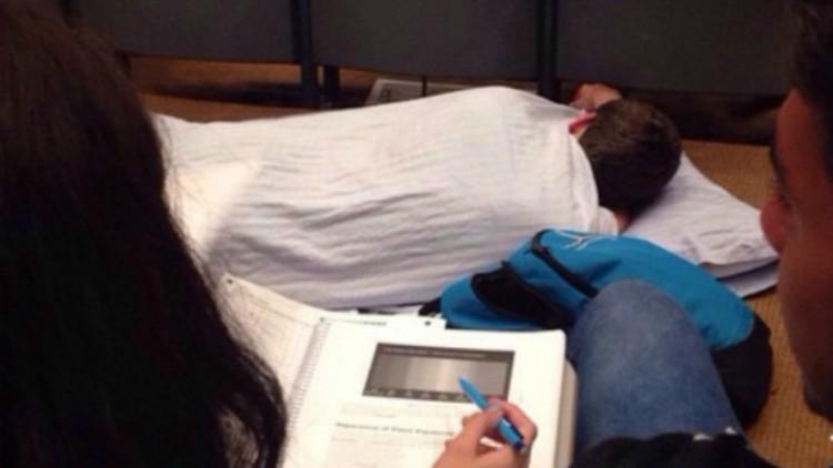 Asleep in Class