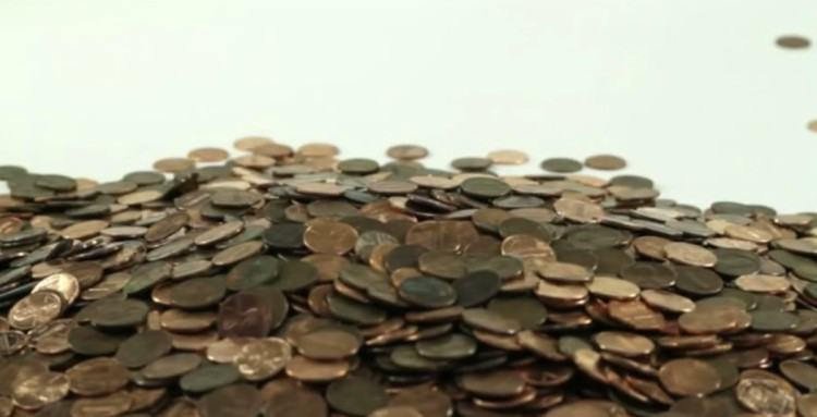 Image of penny pile.