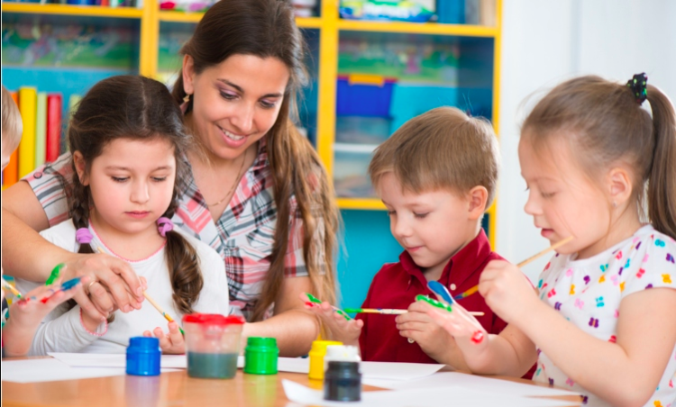 Image of kids in daycare