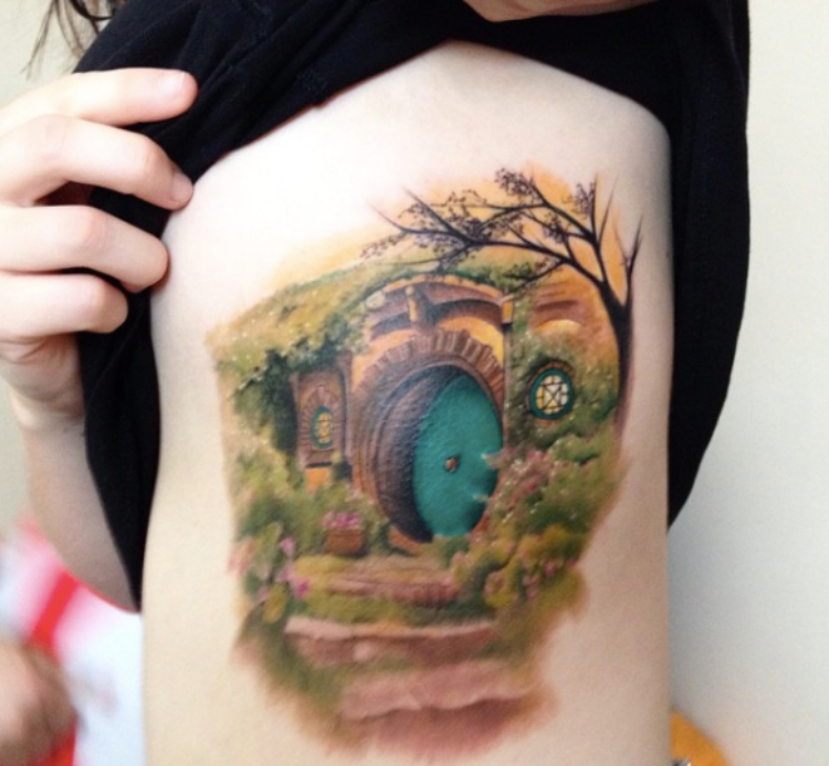 literary tattoo