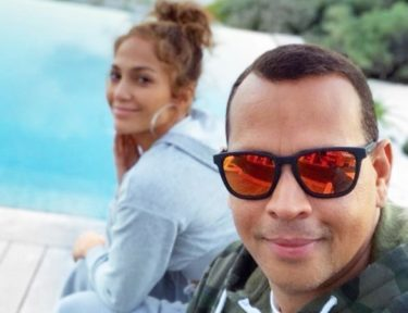 Image of JLo and Arod