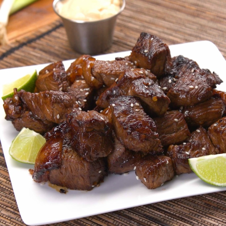 Easy Asian Steak Bites