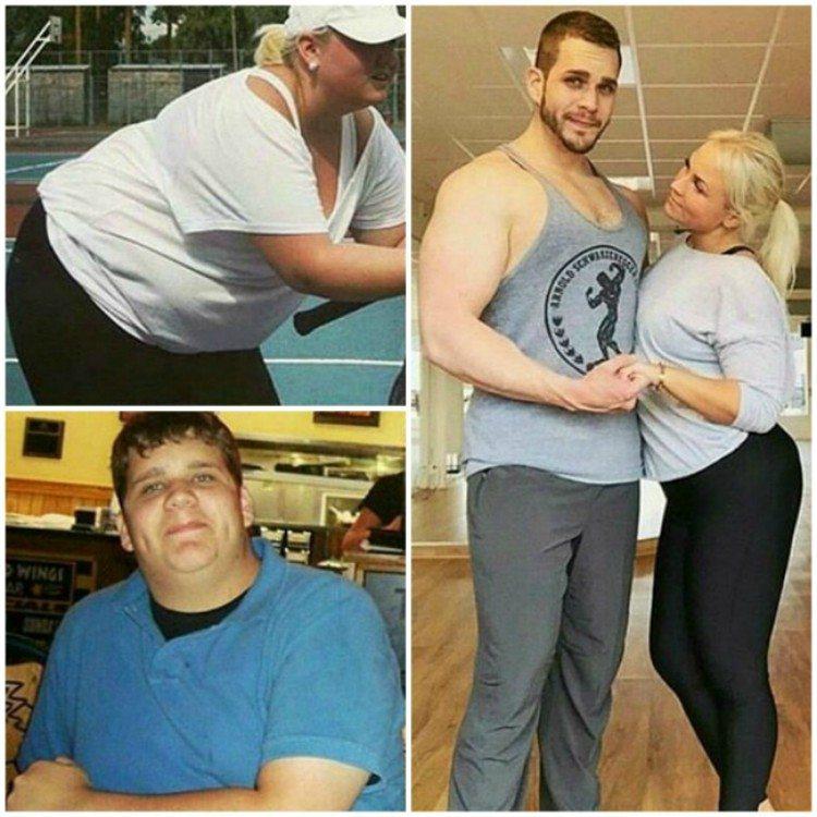 Body Building Couple