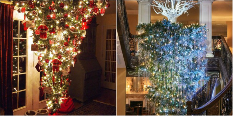 Here S The Meaning Behind The Upside Down Christmas Tree Trend
