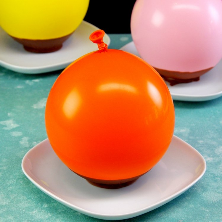 Balloon Party Hacks: Chocolate Bowls