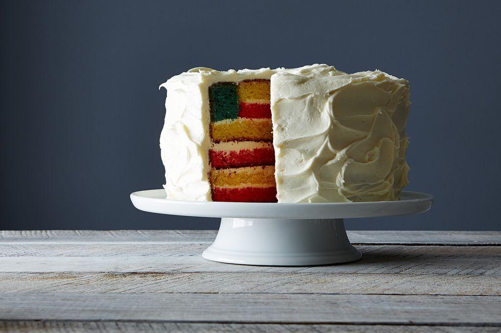 Flag Cake Full