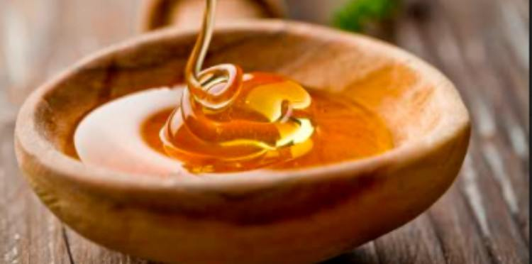 honey in bowl