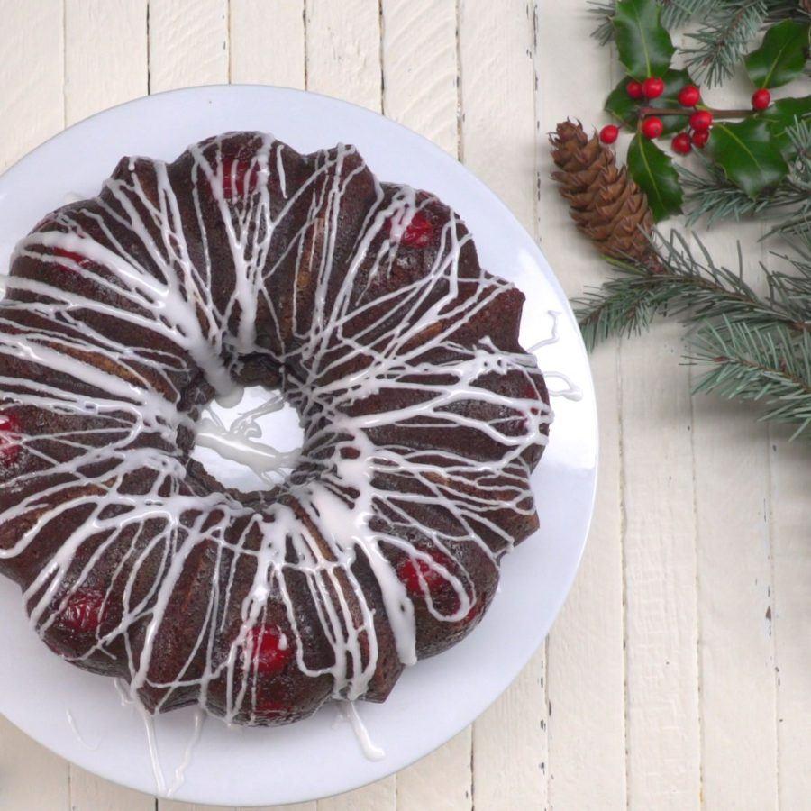 Whole Chocolate Cherry Cheesecake