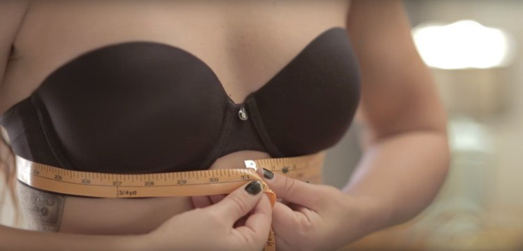 How to measure the band of your bra