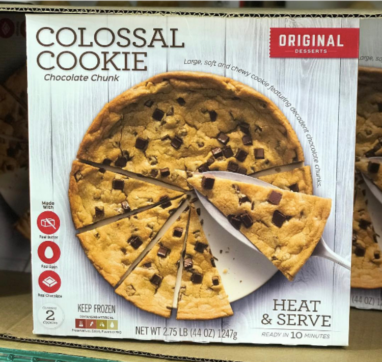 Image of Costco's colossal cookie