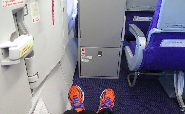 flight attendants exit row
