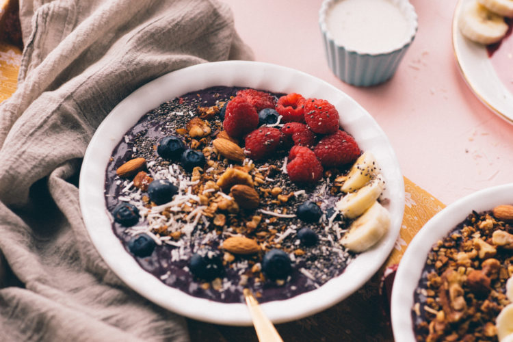 Image of acai/smoothie bowl