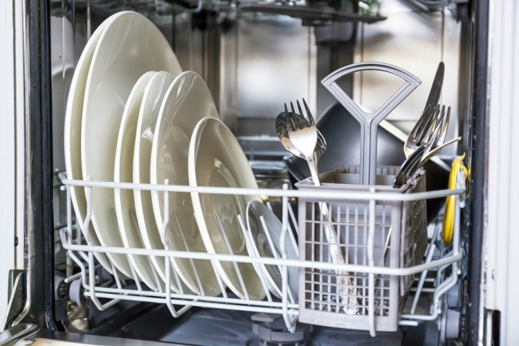 Debating correct way to load utensils and dishes in dishwasher