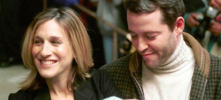 Sarah Jessica Parker and Matthew Broderick smiling