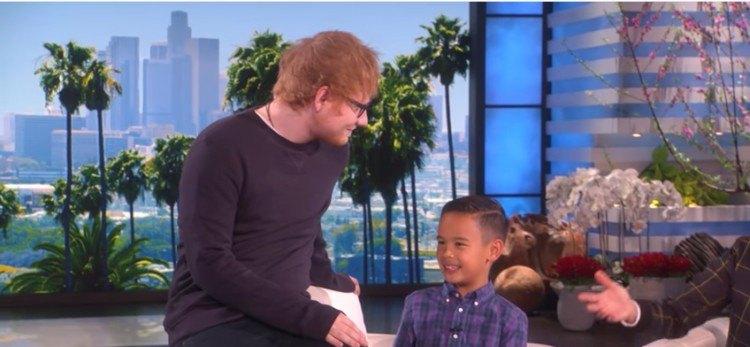 Ed Sheeran and Kai