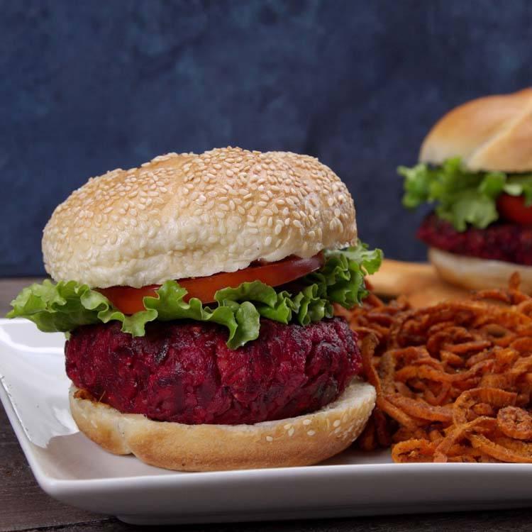 Beet and Feta Burgers 1
