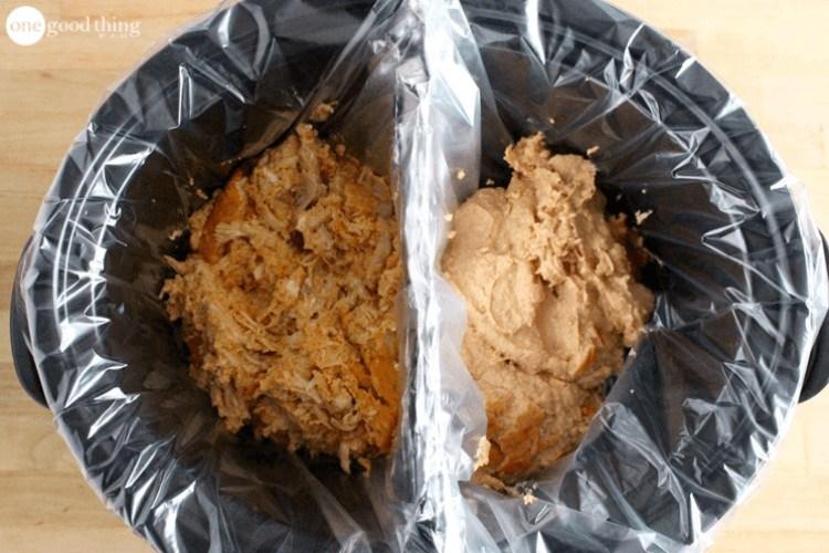 divided crock pot