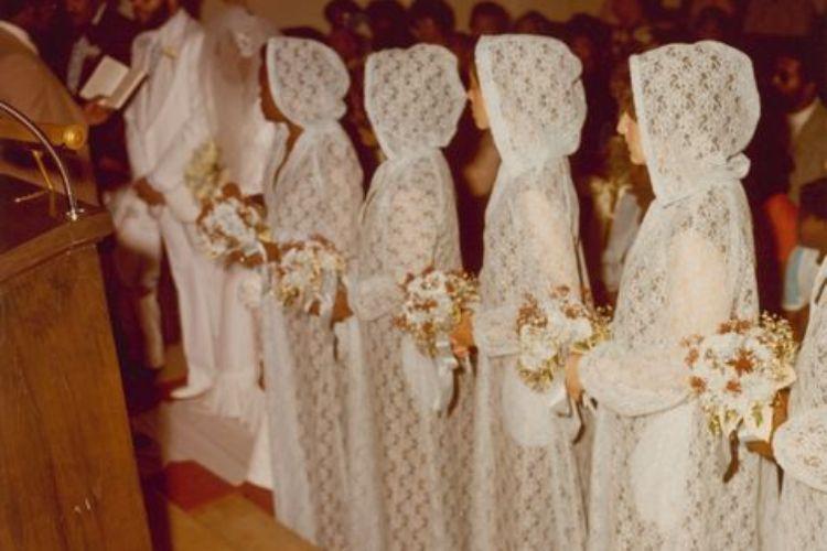 bridesmaids hoods