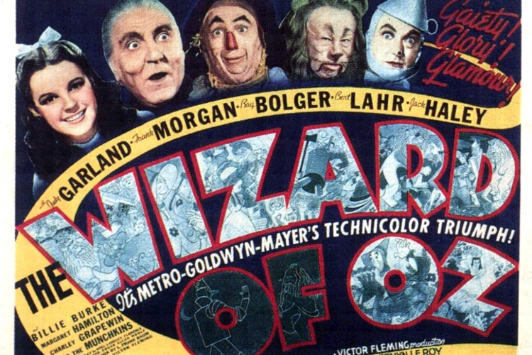 Wizard of Oz label.