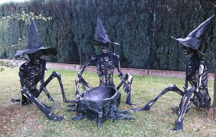 skeleton witches