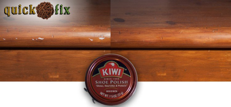 Image of wood and shoe polish.
