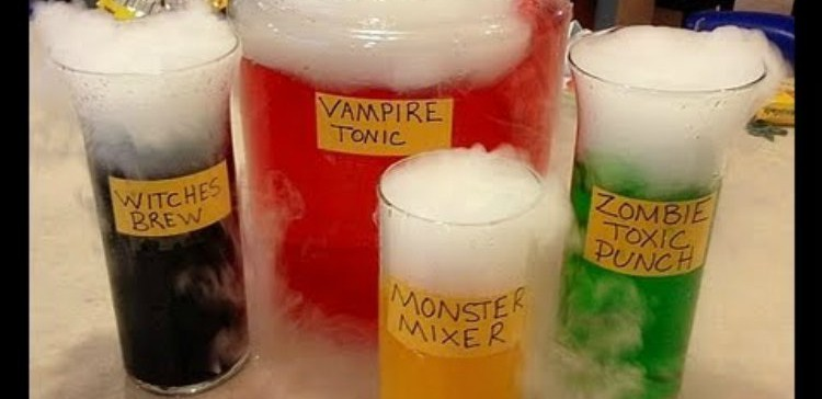 How to Make Foaming Punch for Your Halloween Party