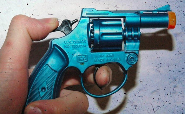 Disney toy gun