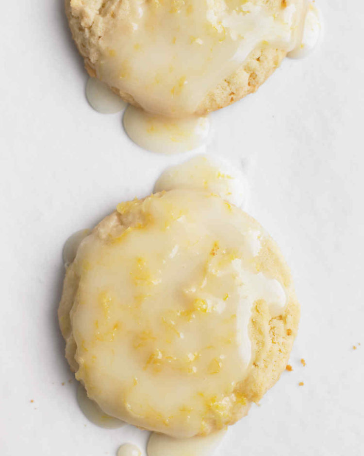 Image of lemon glazed cookies