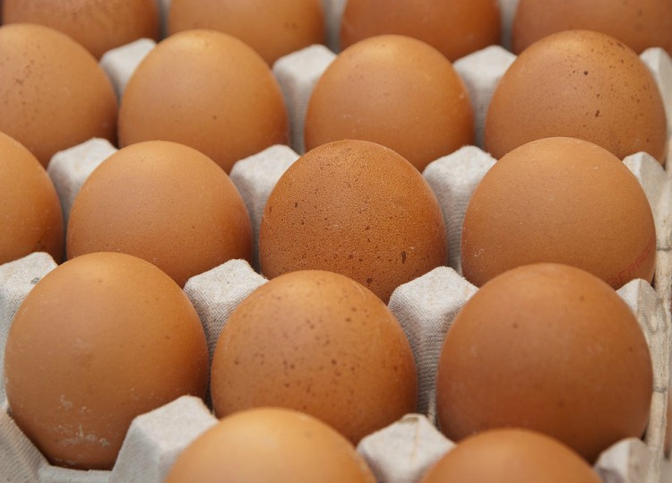 Image of eggs in a carton