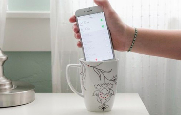 hotel cup speaker