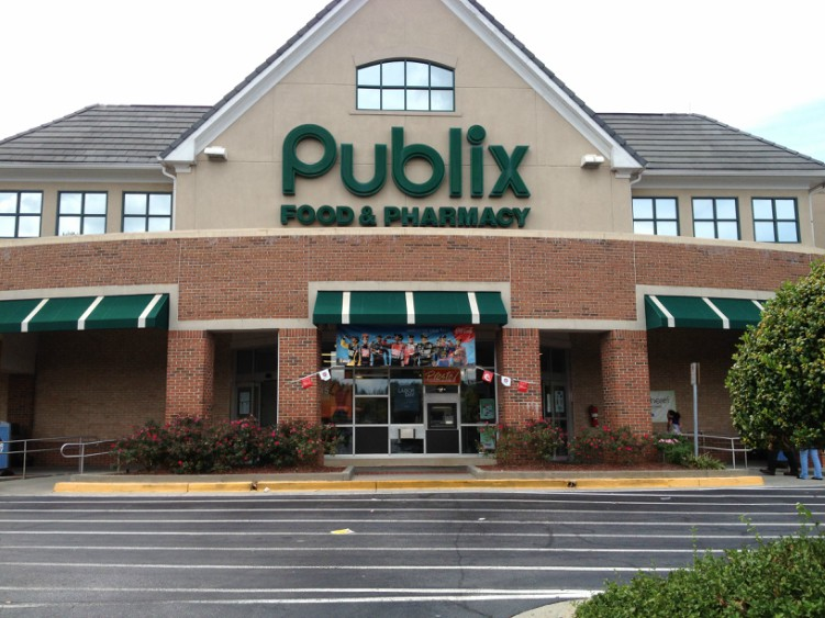 Image of Publix store logo.