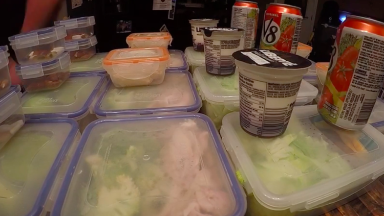Image of meal prep containers