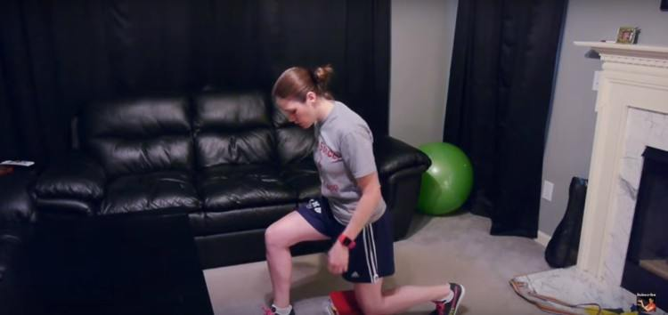 knee lunges