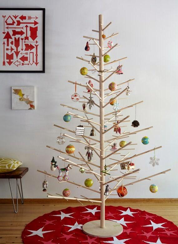 Wood Dowel Tree