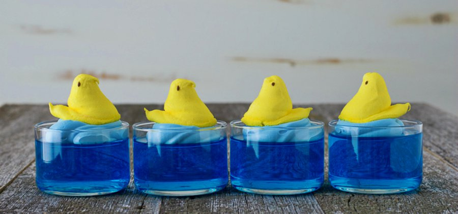 Swimming Jello Peeps