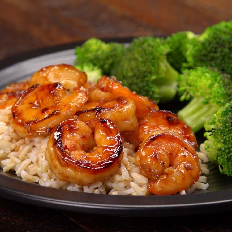 honey garlic shrimp 2