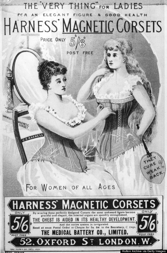 Magnetic Corsets