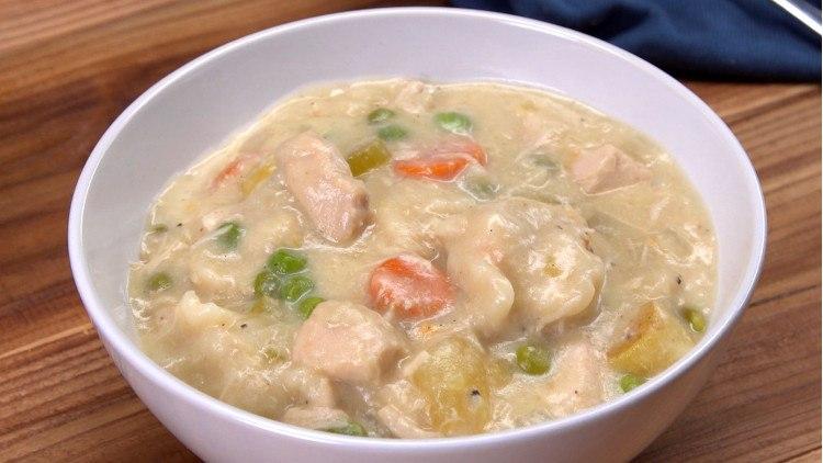 Slow Cooker Chicken & Dumplings FI