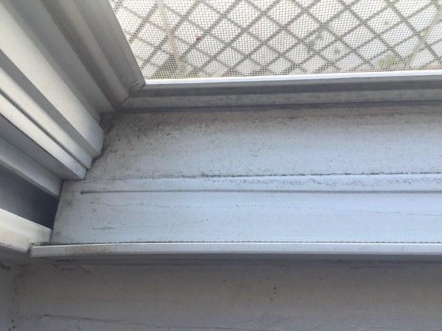 Window tracks dirty