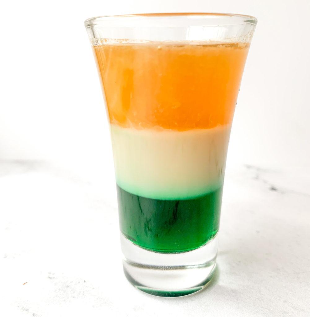 Irish Flag Shot Full Frame