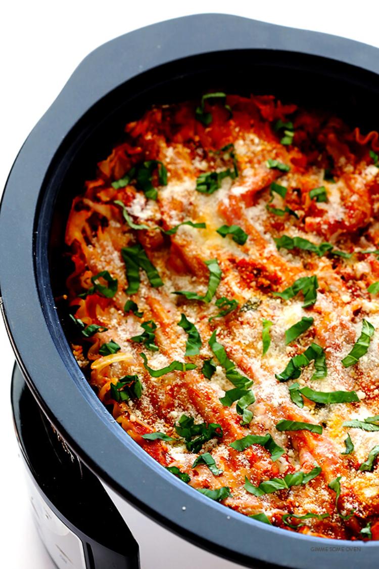 Image of crockpot lasagna