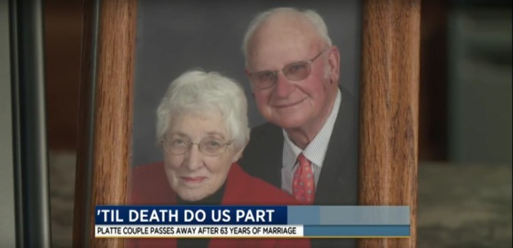 Picture of the elderly couple who passed away.