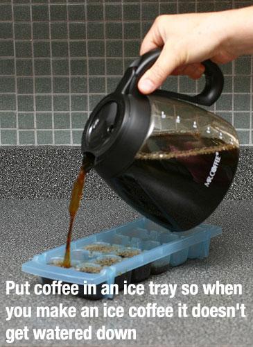 coffeeinicetray